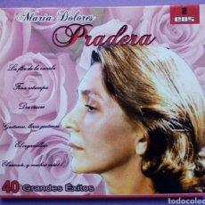 CDs de Música: MARIA DOLORES PRADERA - 40 GRANDES ÉXITOS 2 CDS. Lote 191894577