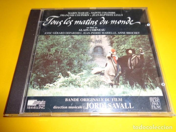 TOUS LES MATINS DU MONDE / ORIGINAL SOUNDTRACK / BANDA SONORA / BSO / JORDI SAVALL / CD (Música - CD's Bandas Sonoras)