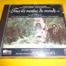 CDs de Música: TOUS LES MATINS DU MONDE / ORIGINAL SOUNDTRACK / BANDA SONORA / BSO / JORDI SAVALL / CD. Lote 191899298