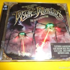 CDs de Música: THE WAR OF THE WORLDS / THE NEW GENERATION / JEFF WAYNE`S MUSICAL VERSION / LIAM NEESON, ETC. / 2 CD. Lote 191899881