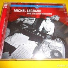 CDs de Música: MICHEL LEGRAND / EVE & OTHER FILM SCORES / ORIGINAL SOUNDTRACK / BANDAS SONORAS / BSO / 2 CD. Lote 191900218