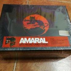 CDs de Música: AMARAL GATO NEGRO DRAGON ROJO BOX SET CAJA DELUXE PRECINTADA 2 CD + LIBRO EDICION LIMITADA Nº 10952. Lote 191915601