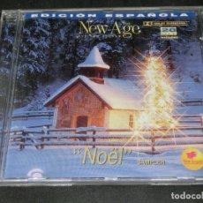 CDs de Música: CD - NOEL - NÖEL NEW AGE MUSICA AND NEW SOUNDS NÚMERO 15 VARIOS SAMPLER EDICIÓN ESPAÑOLA VARIOS. Lote 191919115