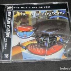 CDs de Música: CD -THE RIPPINGTONS FEATURING RUSS FREEMAN - BLACK DIAMOND - LO MEJOR DE LA MÚSICA NEW AGE 18. Lote 191927770