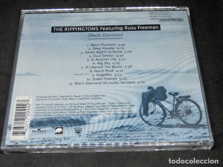 CDs de Música: CD -THE RIPPINGTONS FEATURING RUSS FREEMAN - BLACK DIAMOND - LO MEJOR DE LA MÚSICA NEW AGE 18 - Foto 2 - 191927770