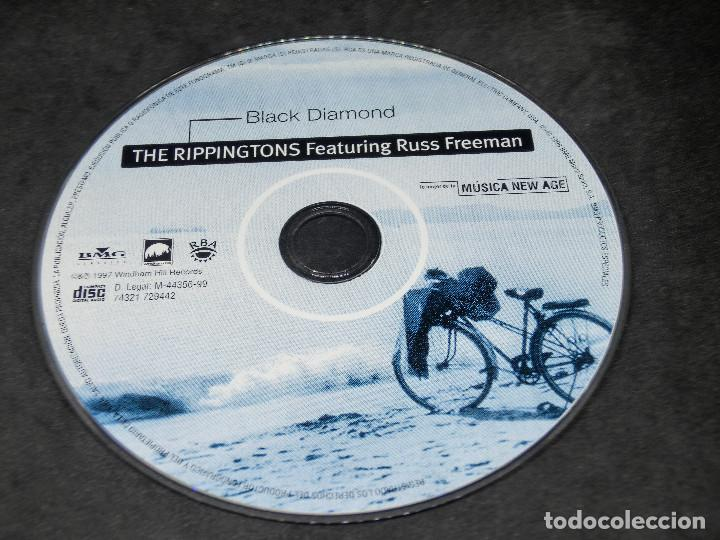 CDs de Música: CD -THE RIPPINGTONS FEATURING RUSS FREEMAN - BLACK DIAMOND - LO MEJOR DE LA MÚSICA NEW AGE 18 - Foto 3 - 191927770