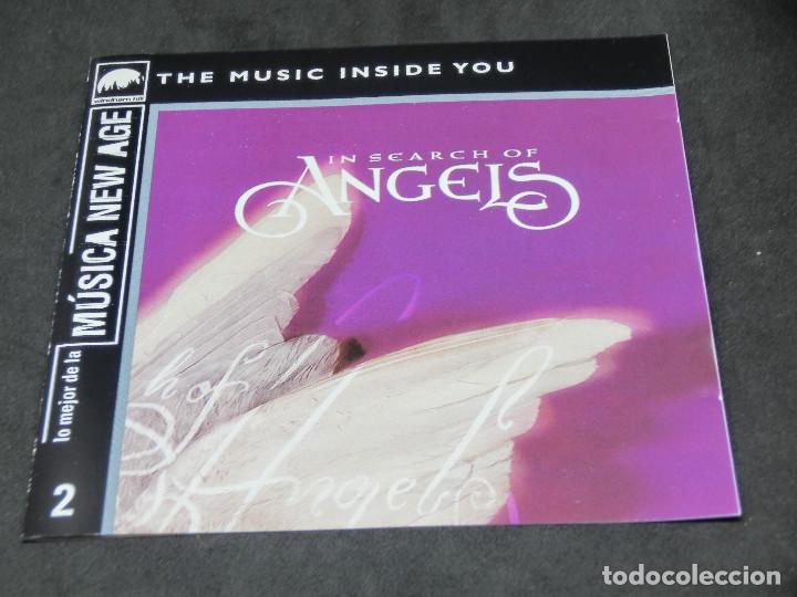 CDs de Música: CD - IN SEARCH OF ANGELS - VARIOS - LO MEJOR DE LA MÚSICA NEW AGE 2 - Foto 5 - 191927883