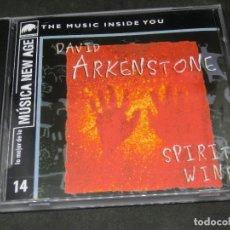 CDs de Música: CD - DAVID ARKENSTONE - SPIRIT WIND - LO MEJOR DE LA MÚSICA NEW AGE 14. Lote 191928146