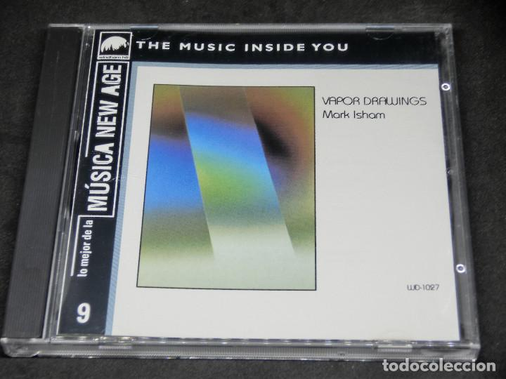 CD - VAPOR DRAWINGS MARK ISHAM - LO MEJOR DE LA MÚSICA NEW AGE 9 (Música - CD's New age)