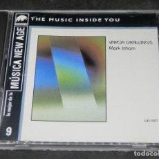 CDs de Música: CD - VAPOR DRAWINGS MARK ISHAM - LO MEJOR DE LA MÚSICA NEW AGE 9. Lote 191929262