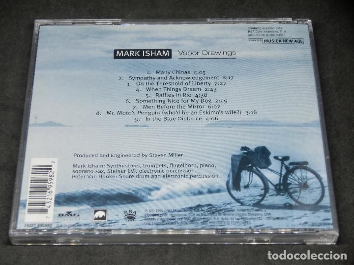 CDs de Música: CD - VAPOR DRAWINGS MARK ISHAM - LO MEJOR DE LA MÚSICA NEW AGE 9 - Foto 2 - 191929262