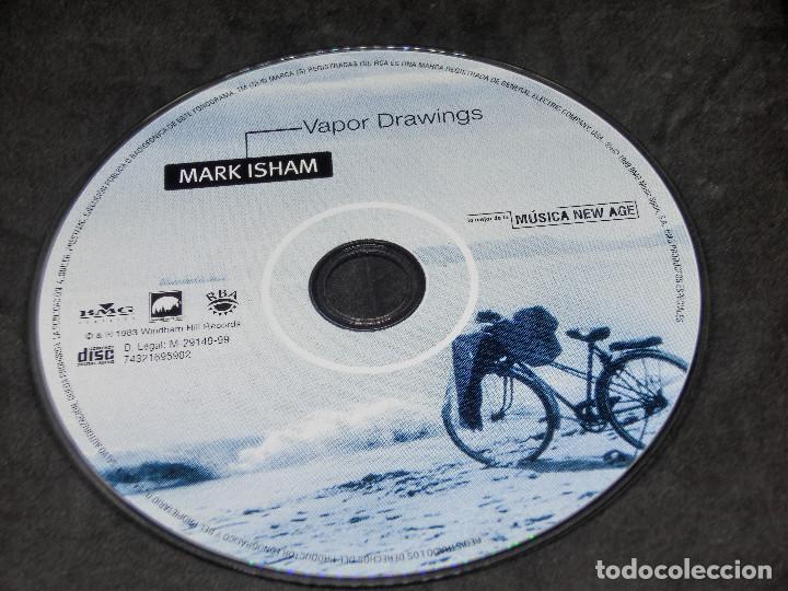 CDs de Música: CD - VAPOR DRAWINGS MARK ISHAM - LO MEJOR DE LA MÚSICA NEW AGE 9 - Foto 7 - 191929262