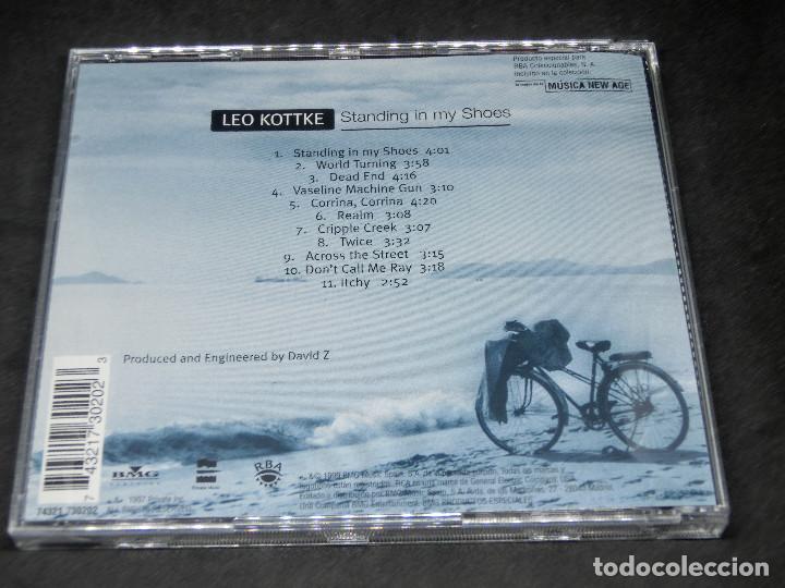 CDs de Música: CD - LEO KOTTKE - STANDING IN MY SHOES - LO MEJOR DE LA MÚSICA NEW AGE 20 - Foto 2 - 191929547