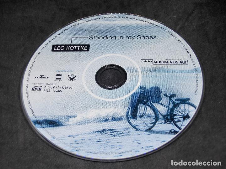 CDs de Música: CD - LEO KOTTKE - STANDING IN MY SHOES - LO MEJOR DE LA MÚSICA NEW AGE 20 - Foto 3 - 191929547