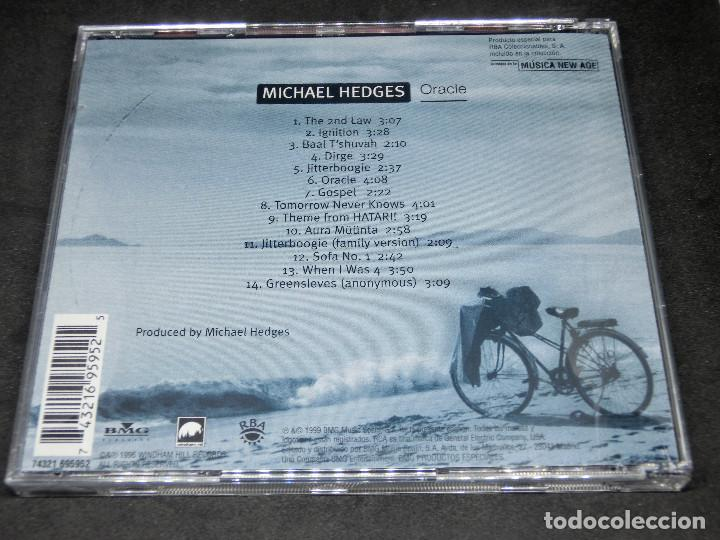 CDs de Música: CD - MICHAEL EDGES - ORACLE - LO MEJOR DE LA MÚSICA NEW AGE 16 - Foto 2 - 191929782