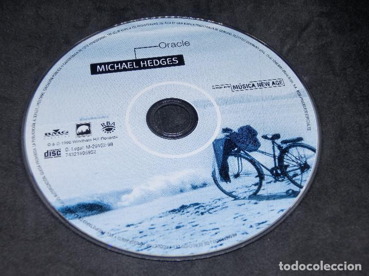 CDs de Música: CD - MICHAEL EDGES - ORACLE - LO MEJOR DE LA MÚSICA NEW AGE 16 - Foto 7 - 191929782
