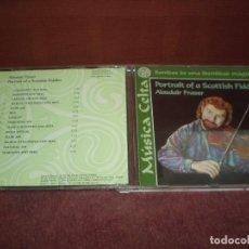 CDs de Música: CD LP ALASDAIR FRASER / PORTRAIT OF A SCOTTISH FIDDLER 14 TRACKS - SONIDOS DE UNA IDENTIDAD MAGICA. Lote 191934785