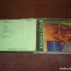 CDs de Música: CD LP MILLADOIRO / GALICIA NO TEMPO 2 PARTES 4TRACKS - SONIDOS DE UNA IDENTIDAD MAGICA. Lote 191936437