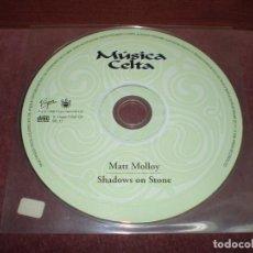 CDs de Música: CD LP MATT MOLLOY / SHADOWS ON STONE 14 TRACKS - SONIDOS DE UNA IDENTIDAD MAGICA ESTUCHE PLASTICO. Lote 191939167