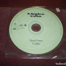 CDs de Música: CD LP DONAL LUNNY / COOLFIN 12 TRACKS - SONIDOS DE UNA IDENTIDAD MAGICA ESTUCHE PLASTICO,. Lote 191939446