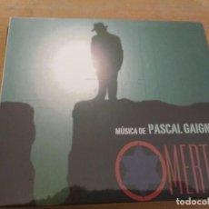 CDs de Música: OMERTÁ / PASCAL GAIGNE CD BSO ¡¡PRECINTADO¡¡. Lote 191940880