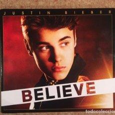 CDs de Música: JUSTIN BIEBER - EDICIÓN DELUXE - BELIEVE - CD + DVD. Lote 191958052