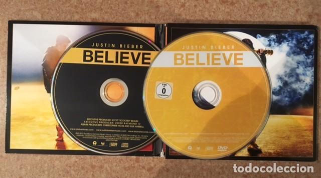 CDs de Música: JUSTIN BIEBER - EDICIÓN DELUXE - BELIEVE - CD + DVD - Foto 3 - 191958052