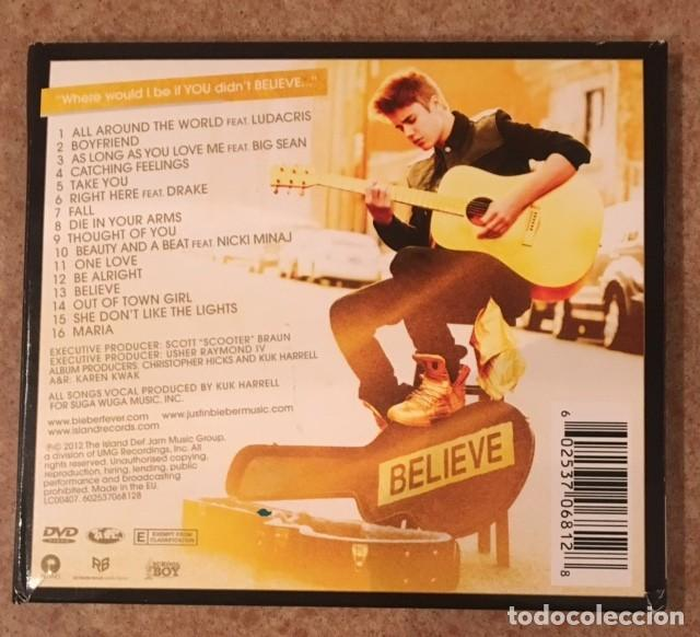 CDs de Música: JUSTIN BIEBER - EDICIÓN DELUXE - BELIEVE - CD + DVD - Foto 4 - 191958052