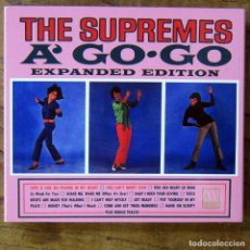 CDs de Música: THE SUPREMES A GO GO - EXPANDED EDITION - 2017 - DOBLE CD - DIANA ROSS, MOTOWN. Lote 191967572