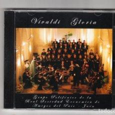 CDs de Música: GLORIA VIVALDI GRUPO POLIFÓNICO DE LA REAL SOCIEDAD ECONÓMICA DE AMIGOS DEL PAÍS JAÉN 2006. Lote 191990187