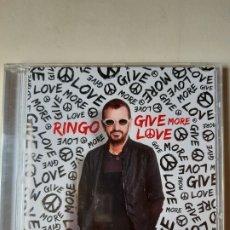 CDs de Música: RINGO STAR. RINGO GIVE MORE LOVE. Lote 191993491
