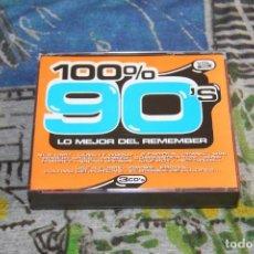 CDs de Música: 100% 90'S VOL. 2 - BLANCO Y NEGRO - MXCD 1527 - 3 CD'S. Lote 192006391