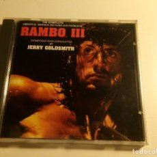 CDs de Musique: RAMBO III - JERRY GOLDSMITH. Lote 192008303