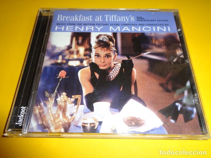 BREAKFAST AT TIFFANY´S / EDICIÓN 50 ANIVERSARIO / DESAYUNO CON DIAMANTES / ORIGINAL SOUNDTRACK / CD (Música - CD's Bandas Sonoras)