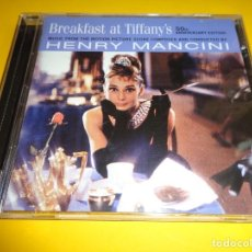 CDs de Música: BREAKFAST AT TIFFANY´S / EDICIÓN 50 ANIVERSARIO / DESAYUNO CON DIAMANTES / ORIGINAL SOUNDTRACK / CD. Lote 192039197