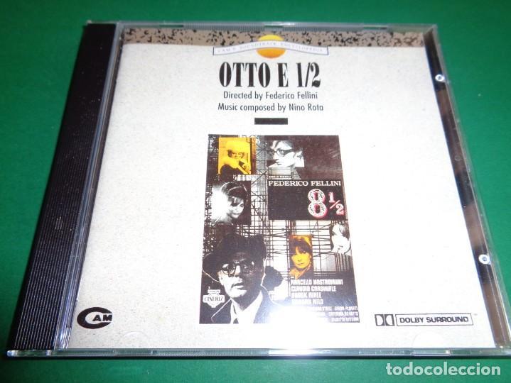 OTTO E 1/2 / OTTO E MEZZO / NINO ROTA / ORIGINAL SOUNDTRACK / OCHO Y MEDIO / BANDA SONORA / CD (Música - CD's Bandas Sonoras)