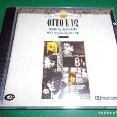 CDs de Música: OTTO E 1/2 / OTTO E MEZZO / NINO ROTA / ORIGINAL SOUNDTRACK / OCHO Y MEDIO / BANDA SONORA / CD. Lote 192039395