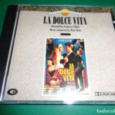 CDs de Música: LA DOLCE VITA / NINO ROTA / FEDERICO FELLINI / ORIGINAL SOUNDTRACK / BANDA SONORA / CD. Lote 192039707