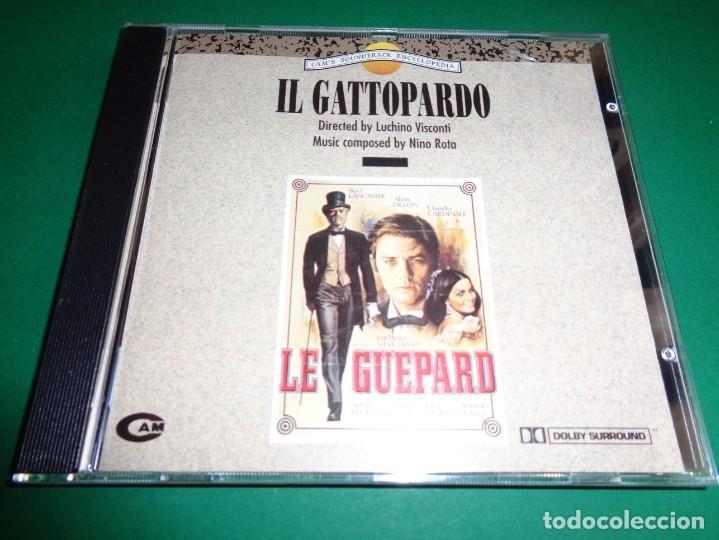 IL GATTOPARDO / NINO ROTA / LUCHINO VISCONTI / ORIGINAL SOUNDTRACK / BANDA SONORA / CD (Música - CD's Bandas Sonoras)