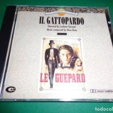 CDs de Música: IL GATTOPARDO / NINO ROTA / LUCHINO VISCONTI / ORIGINAL SOUNDTRACK / BANDA SONORA / CD. Lote 192039996