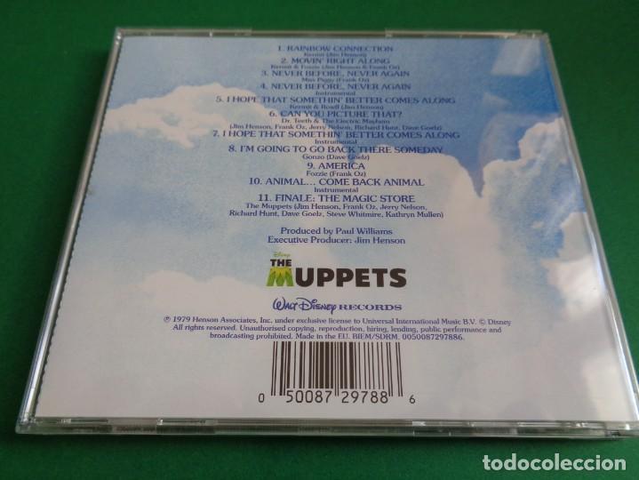CDs de Música: THE MUPPET MOVIE / ORIGINAL SOUNDTRACK / LOS TELEÑECOS VAN A HOLLYWOOD / BANDA SONORA JIM HENSON CD - Foto 2 - 192059423