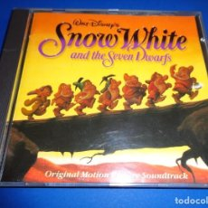 CDs de Música: SNOW WHITE AND THE SEVEN DWARFS / BLANCANIEVES Y LOS SIETE ENANITOS / WALT DISNEY RECORDS / BSO / CD. Lote 192059675