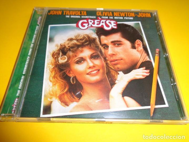 GREASE / ORIGINAL SOUNDTRACK / BANDA SONORA / BSO / JOHN TRAVOLTA & OLIVIA NEWTON-JOHN / CD (Música - CD's Bandas Sonoras)