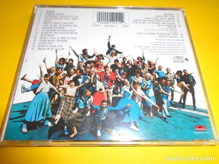 CDs de Música: GREASE / ORIGINAL SOUNDTRACK / BANDA SONORA / BSO / JOHN TRAVOLTA & OLIVIA NEWTON-JOHN / CD - Foto 2 - 192060361