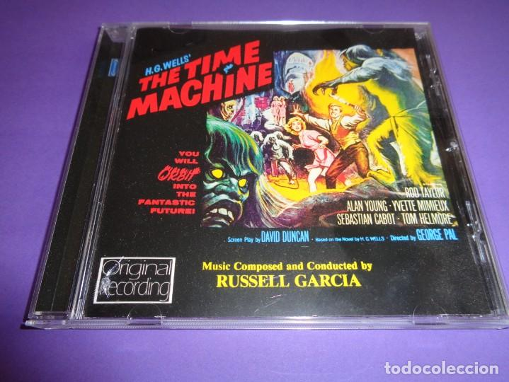 THE TIME MACHINE / ORIGINAL SOUNDTRACK / EL TIEMPO EN SUS MANOS / BANDA SONORA / RUSSELL GARCIA / CD (Música - CD's Bandas Sonoras)