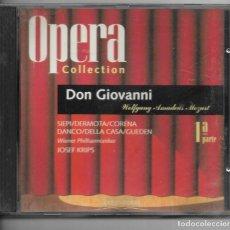 CDs de Música: == AA99 - OPERA COLLECTION - DON GIOVANNI - 1ª PARTE. Lote 192077317