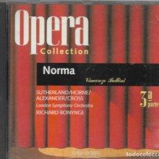 CDs de Música: == AA101 - OPERA COLLECTION - NORMA - 3ª PARTE. Lote 192078446