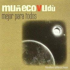 CDs de Música: MUÑECO VUDU MEJOR PARA TODOS CD CON VIDEO CLIP PRECINTADO ASTURIAS PEPETO. Lote 192088097