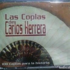 CDs de Música: LAS COPLAS DE CARLOS HERRERA 6XCD CON LIBRITO INTERIOR. 100 COPLAS PARA LA HISTORIA. PERFECTO ESTADO. Lote 192089717