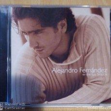 CDs de Música: ALEJANDRO FERNANDEZ (ENTRE TUS BRAZOS) CD 2000. Lote 192101130